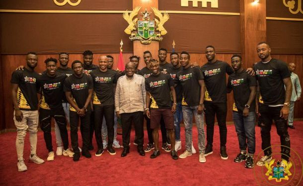 AFCON 2019:Nana Addo flies to Egypt to support the Black Stars against Benin