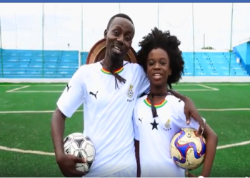 AFCON 2019: Oswald, Euodia support the Black Stars with a poetry spokenword [VIDEO]