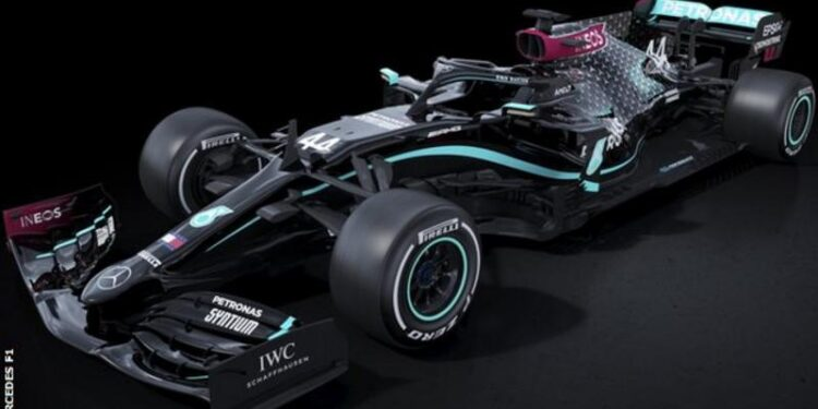 Mercedes to race in new black livery for 2020 F1 season