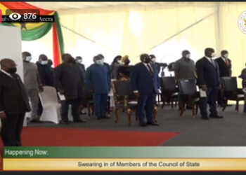 Watch Live: Swearing in of members of the Council of State