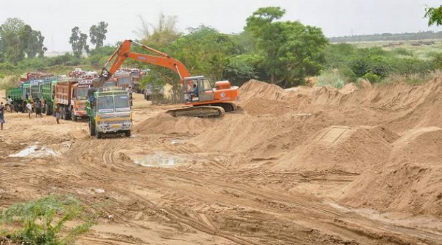 Sand winning suspended in the Upper West Akim constituency