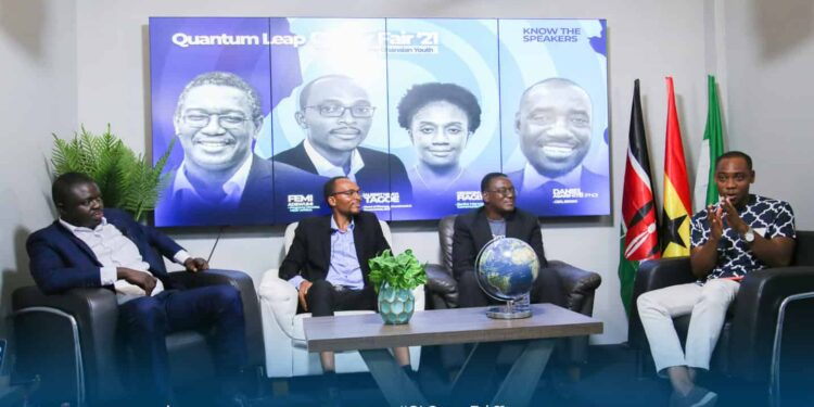"""Accra Talks """"jobs for the Ghanaian youth"""" at quantum leap career fair 2021"""