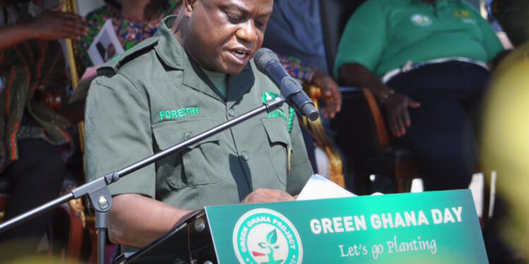 Green Ghana Project: Ghana replants 30,000 hectares of destroyed forest annually - Forestry Commission