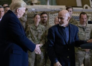 Afghanistan's former President Ghani escaped with cars full of money – Trump