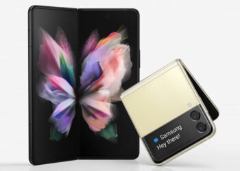 The new Samsung Galaxy Z Fold3 and Galaxy Z Flip3 are some of the prizes