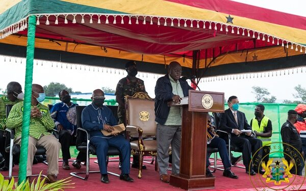 Prez Akufo-Addo cuts sod for phase II of $60 million Uhas expansion project in Ho
