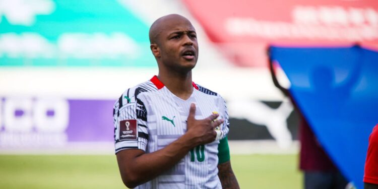 Dede Ayew dropped as Black Stars coach names starting line up to face Zimbabwe